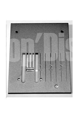 plaque à aiguille Husqvarna 1050 - electrolux prisma