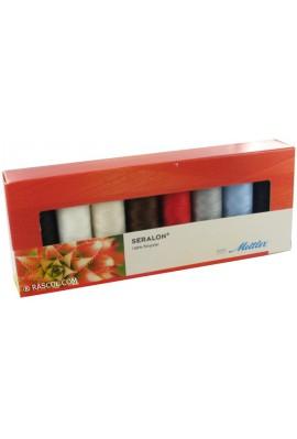 Coffret 8 fils à coudre 100 % polyester 200m Mettler ®