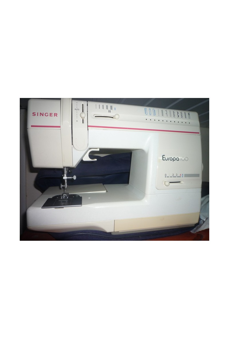 Machine a coudre singer occasion europa 100 excellent etat for Machine a coudre occasion