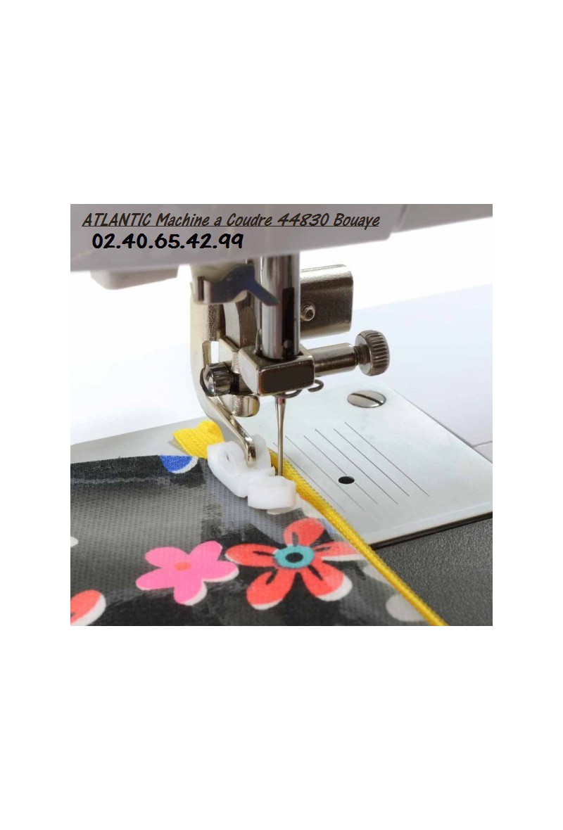 Pied standard pour fermeture clair en t flon vinyl ska for Machine a coudre 974