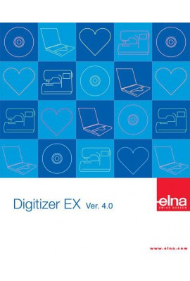 Logiciel de broderie Digitizer EX Junior V 4.0 ELNA et JANOME