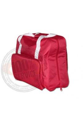 sac de transport pour machine a coudre toutes marques modèle en ROUGE OU BLEU MARINE