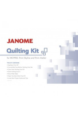 Kit Quilting Janome Skyline S5