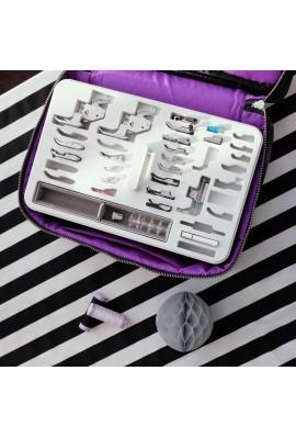Boîte de rangement pour accessoires JANOME (livrée vide)