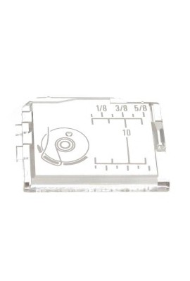 Plaque glissière transparente JANOME 8077