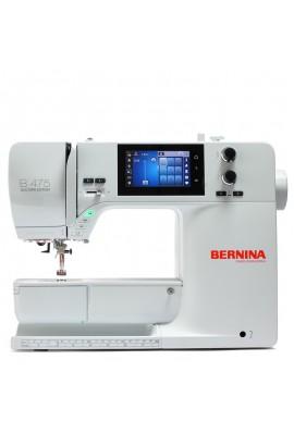 Bernina 475 QE + CADEAUX Kit Mettler + sac bandoulière BERNINA