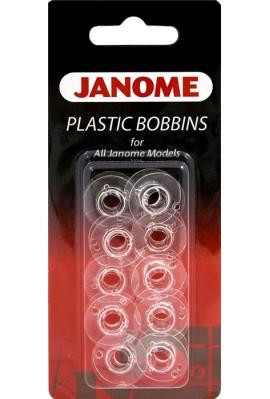 LOT DE 10 CANETTES JANOME TOUTES MACHINES