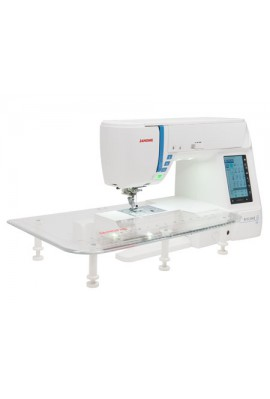 Janome Skyline S3 DISPONIBLE SOUS 48 H avec table d'extension Garantie 5 ans