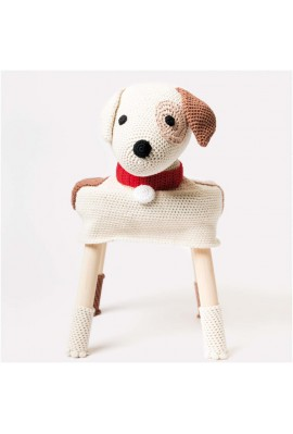 Kit Stool Cover - Le chien Tommy