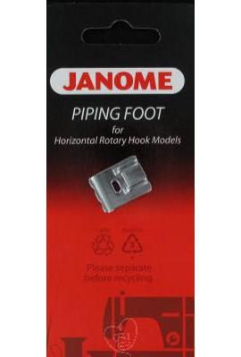 Pied I double passepoil 9mm JANOME et ELNA