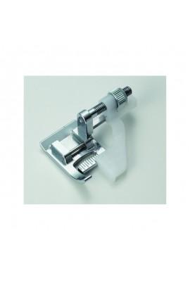 Pied ourlet invisible avec guide bord ajustable JANOME et ELNA 9mm