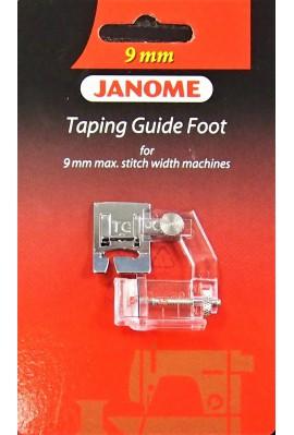 Pied pose biais JANOME / ELNA 9 mm