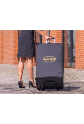 Trolley valise à roulettes BABYLOCK