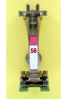 pied N° 56 à broder ouvert avec semelle téflon 5mm 0084807200