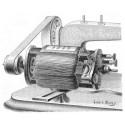 moteur et poulie moteur